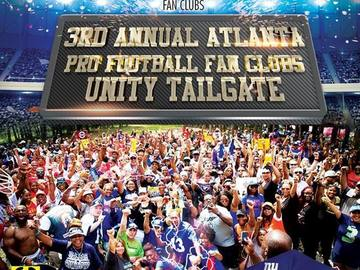 Paid Events: 3rd Annual Unity Tailgate - United Pro Football Fan Clubs