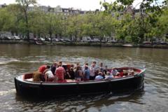 """Rent per hour: Open boat """"Nassau"""" - Max. 42 people"""