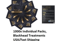 Bulk Lot: 1000x Single Packs Highest Quality Black Mud Mask.