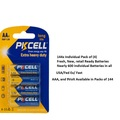 Bulk Lot: High Quality/Fresh PKCELL 144x Packs of (4) AA Batteries