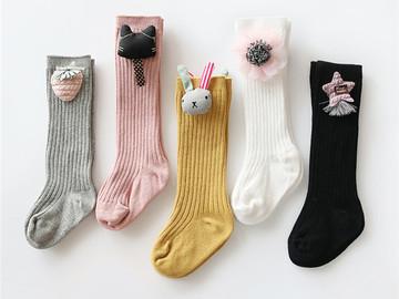 Bulk Lot: 200 pairs  Mixed Lot girls princess girls  baby stockings