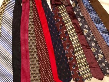Bulk Lot: 50 Men's Dress Ties