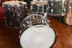 Not So Modern Drummer Article : 1961/62 Slingerland Modern Jazz Outfit in Capri Pearl