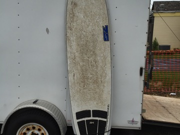 "For Rent: 8'0"" Seven S Longboard"