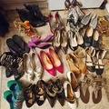 Bulk Lot: 22 Lot Designer/Name Brand new and like new Women's Shoes