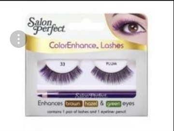 Buy Now: 500 packs of Salon Perfect Color Enhance Eyelashes