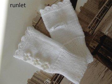 Vente au détail: Mitaines femme,mitaines en laine,mitaines noires/mitaines tr