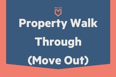 Task: Property Walk Through - Move Out