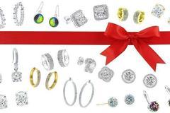 Buy Now: 25 Piece Earring Lot made w/ Swarovski Elements Jewelry