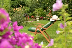 PETITES ANNONCES: Jardin pour barbecue