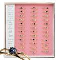 Buy Now: Rhinestone Birthstone Rings- 396 pcs