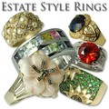 Buy Now: 36 - Ladies Estate Rings- S/S—$1800 retail  PRICE DROP!