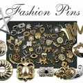 Buy Now: 100 --Ladies Fashion Pins-Brooches-- $ .74 pcs!!