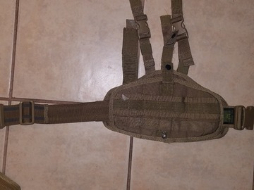 Selling: Pantac - drop leg holster (coyote brown)