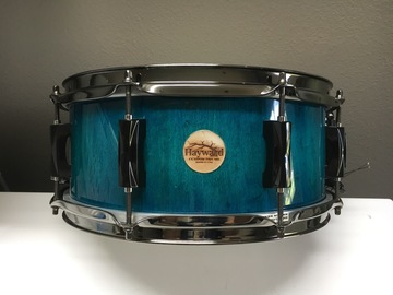 VIP Members' Sales Only: Haywarddrumco Birds eye Maple stave drum
