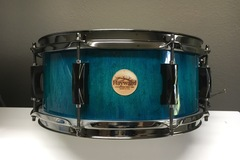 Selling with online payment or cash/check/money order/cash app/Venmo: Haywarddrumco Birds eye Maple stave drum