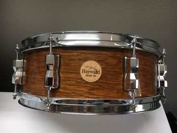 VIP Members' Sales Only: Haywarddrumco 2017 Workhorse Series 6 ply maple snare drum