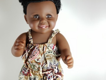 Selling with online payment: African American Afro Doll