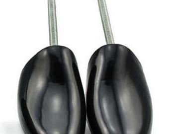 Buy Now: 50 NEW Men's Steel tension spring / plastic shoe tree - $85