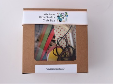 Products: Kids Craft Box - 40+ items