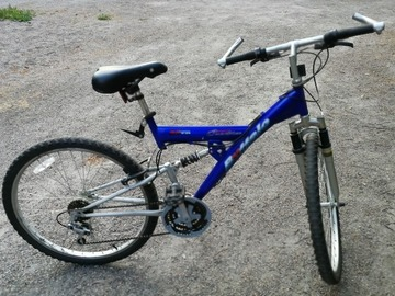 Myydään: A full suspension geared mountain bike
