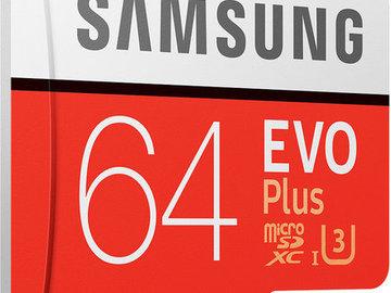 Myydään: Samsung 64GB micro SD