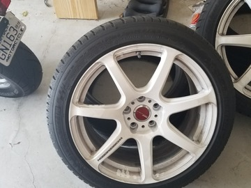 Selling: Work emotion t7r 18x8.5 +38