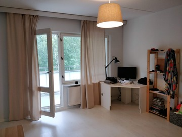 Annetaan vuokralle: 39 m2 apartment in Matinkylä, Espoo for rent from Sept 8th