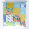 Vente au détail: Coussin déhoussable en patchwork