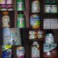 Bulk Lot: 41x vitamin & supplements
