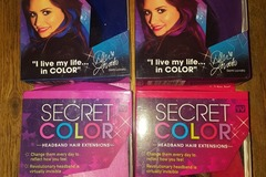 Make An Offer: 10x secret color hair extensions