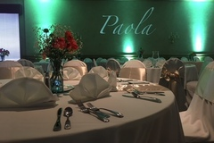 Request To Book & Pay In-Person (hourly/per party package pricing): Event Venue