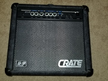 Renting out: Crate Gfx-20 Guitar Amp Amplifier