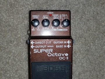 Renting out: Super Octave OC-3