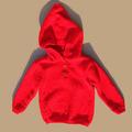 Vente au détail: Pull à capuche rouge
