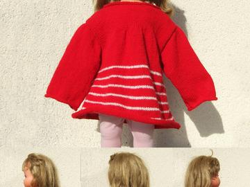 Sale retail: marinières pour petites filles