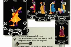 Buy Now: 72  - Halloween Witches Pins - Witches with Style!