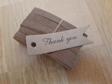 Ilmoitus: Thank you -laput