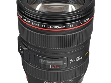 Selling Products: Canon EF 24-105mm f/4L IS USM - Normally $999