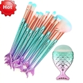 Bulk Lot: 11PCS Pro Mermaid Makeup Brushes 5 sets