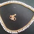 "Single Item: Pair of 10"" Gold Finish Anklet, Ankle Bracelet Fashion Jewel"
