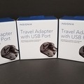 Bulk Lot: New Insignia Travel Adapter with USB Port (Price Drop)