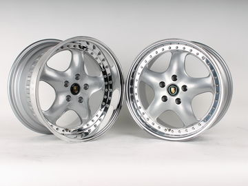 "Selling: 5x112 staggered 17"" RH Artec Speedline Design L wheels."