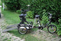 Tandemverleih: Behinderten/Rollstuhl-Transporter in der Lausitz
