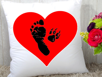"""Selling: """"A Bonded Pair"""" Statement Pillow"""