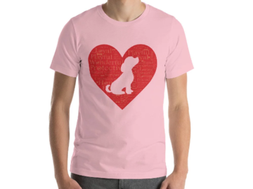 Selling: I Heart My Dog Short-Sleeve Unisex T-Shirt