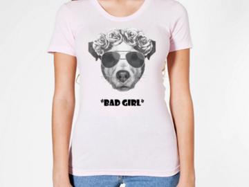 "Selling: ""Bad Girl"" Women's Short Sleeve T-Shirt"