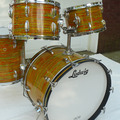 Selling with online payment or cash/check/money order/cash app/Venmo: 1960s Ludwig Hollywood Citrus Mod Set