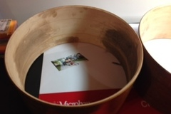 Selling with online payment: Keller Drum Shells partially finished with edges (1 of 2)