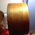 Selling with online payment: Keller Drum Shells partially finished with edges (2 of 2)